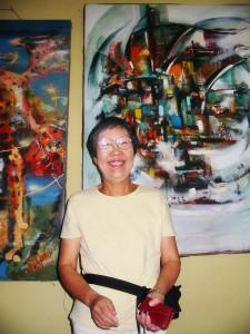 Госпожа Харуми Такечи в ДТШ СВАО